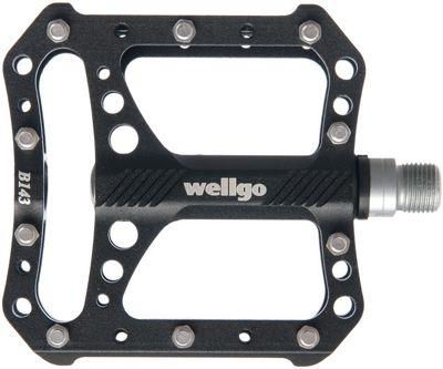 Pédales Plates Wellgo CNC Platform B143