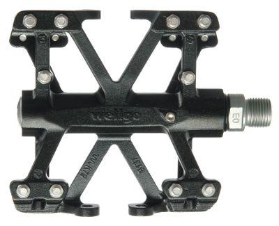 Pédales plates Wellgo CNC Platform B137B