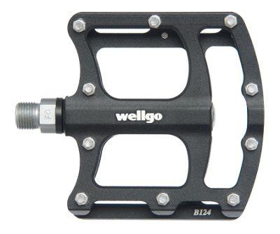 Pédales plates Wellgo CNC Platform B124