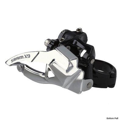 Dérailleur VTT avant SRAM X9 attache basse - 2 x 10 vitesses