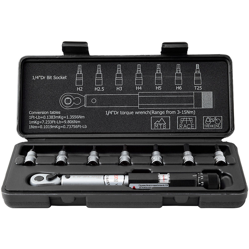 XTools Pro Torque Wrench and Bit Set