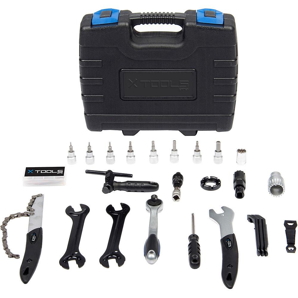 Juego de herramientas de bicicleta X-Tools (27 piezas)