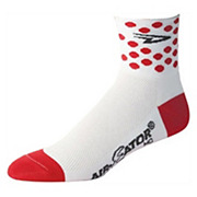 Defeet Aireator Polka Dot Jersey Socks 2011
