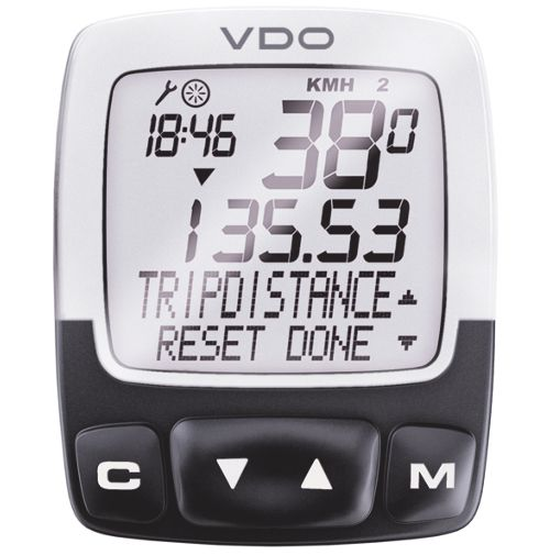 Vdo C2ds Digi Wireless Cycle Computer Euro Chain Reaction Cycles