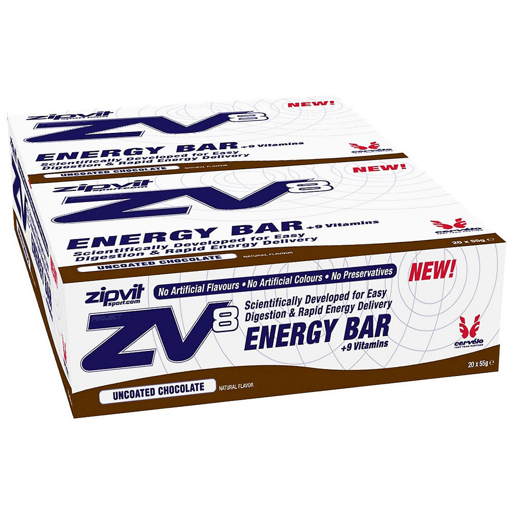 Zipvit ZV8 Energy Bars 55g x 20 Review