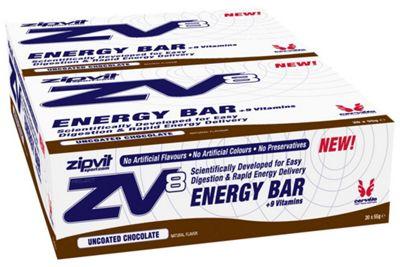 Barres énergétiques Zipvit ZV8 (20 x 55 g)