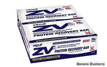 Barres énergétiques protéinées Zipvit Zv9 (15 x 65 g)