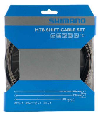 Jeu de câbles de vitesses VTT Shimano