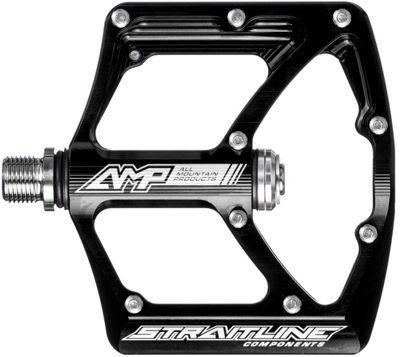 Pédales Plates Straitline AMP Axe Cro-Mo