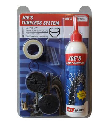 Kit tubeless No Flats Joe's Eco XC