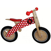 Kiddimoto Kurve Balance Bike - Red Dotty
