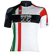 Santini Giro Milan 14cm Zip Jersey 2012