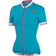 Castelli Perla Short Sleeve FullZip Womens Jersey