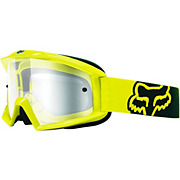 Fox Racing Main Race Yellow Goggles