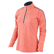 Nike Element 1-2 Zip Womens LS Top SS13