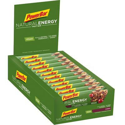 Boisson énergétique PowerBar Natural Energy Fruit & Nut Bars