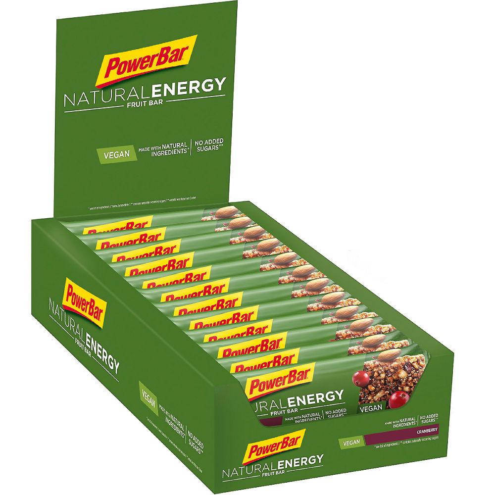 Barritas energéticas de frutas y frutos secos Powerbar Natural