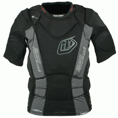 Gilet de protection à manches courtes junior Troy Lee Designs UPS7850-HW