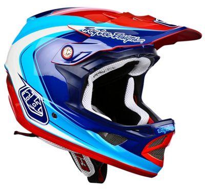 Casque Troy Lee Designs D3 Composite - Mirage Blue
