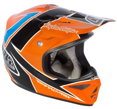 Casque motocross Troy Lee Designs Air - Stinger Orange