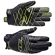 JT Racing Evo Lite Lazer Gloves - Black-Chartreuse 2013
