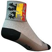 SockGuy 3 Lion of Flanders Classic Socks