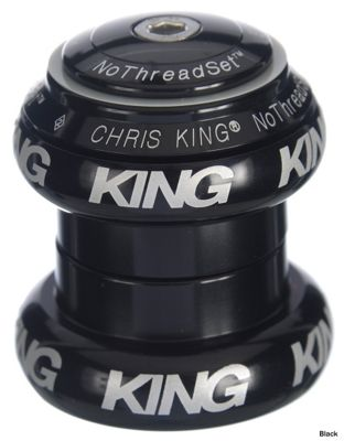 Jeu de direction VTT/Route Chris King NoThreadset 1.1-8''/2,8-20,3cm - Logo argent