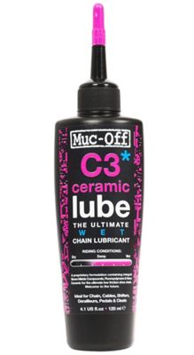 Lubrifiant Muc-Off C3 Wet Céramique - 120ml