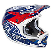 Troy Lee Designs D3 Composite - Team Blue-White 2013