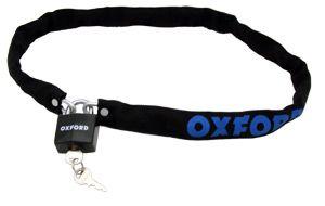 Chaîne antivol Oxford avec manchon de protection