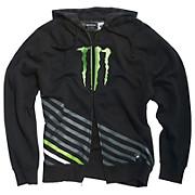 Monster Energy Vertical Zip Hoodie
