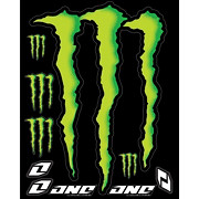 Monster Energy Decal Sheet - 15