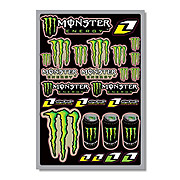 Monster Energy Decal Sheet - 18