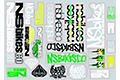 NS Bikes Frame Sticker Pack 2013