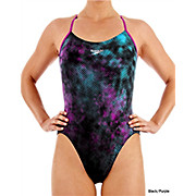 Speedo TurboTurn Placement Rippleback Swimsuit SS13