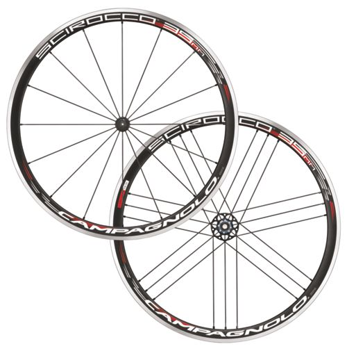 campagnolo scirocco 35 road wheelset 2018 chain reaction. Black Bedroom Furniture Sets. Home Design Ideas