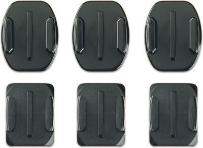 GoPro Fixation Supports adhésifs plats et courbés