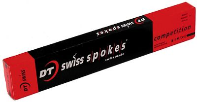 Rayons noirs DT Swiss Champion DB - Pack de 18