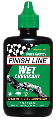 Lubrifiant Finish Line Cross Country Wet Lube - 60ml