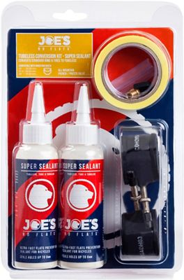 Kit de conversion Tubeless No Flats Joes A.M.
