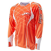 JT Racing Evolve Lite Lazers Jersey - Orange-White 2014