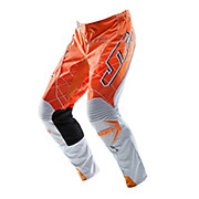 JT Racing Evolve Lite Lazers Pants - Orange-White