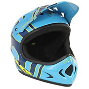 THE Point 5 Helmet - Slant Blue - Yellow 2014