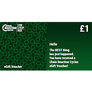 Chain Reaction Cycles Gift Voucher