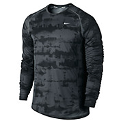 Nike Miler Graphic LS Top AW13