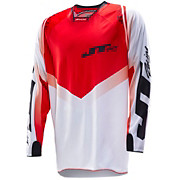 JT Racing Evolve Protek V Jersey - White-Red 2014