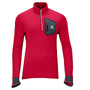 Salomon Trail Runner Warm LS Zip Tee AW13