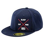 100 Eat Sleep Ride Snapback Hat