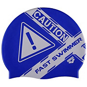 Arena Poolish Caution Fast Swim Cap