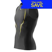 Skins A100 Sleeveless Top - Black